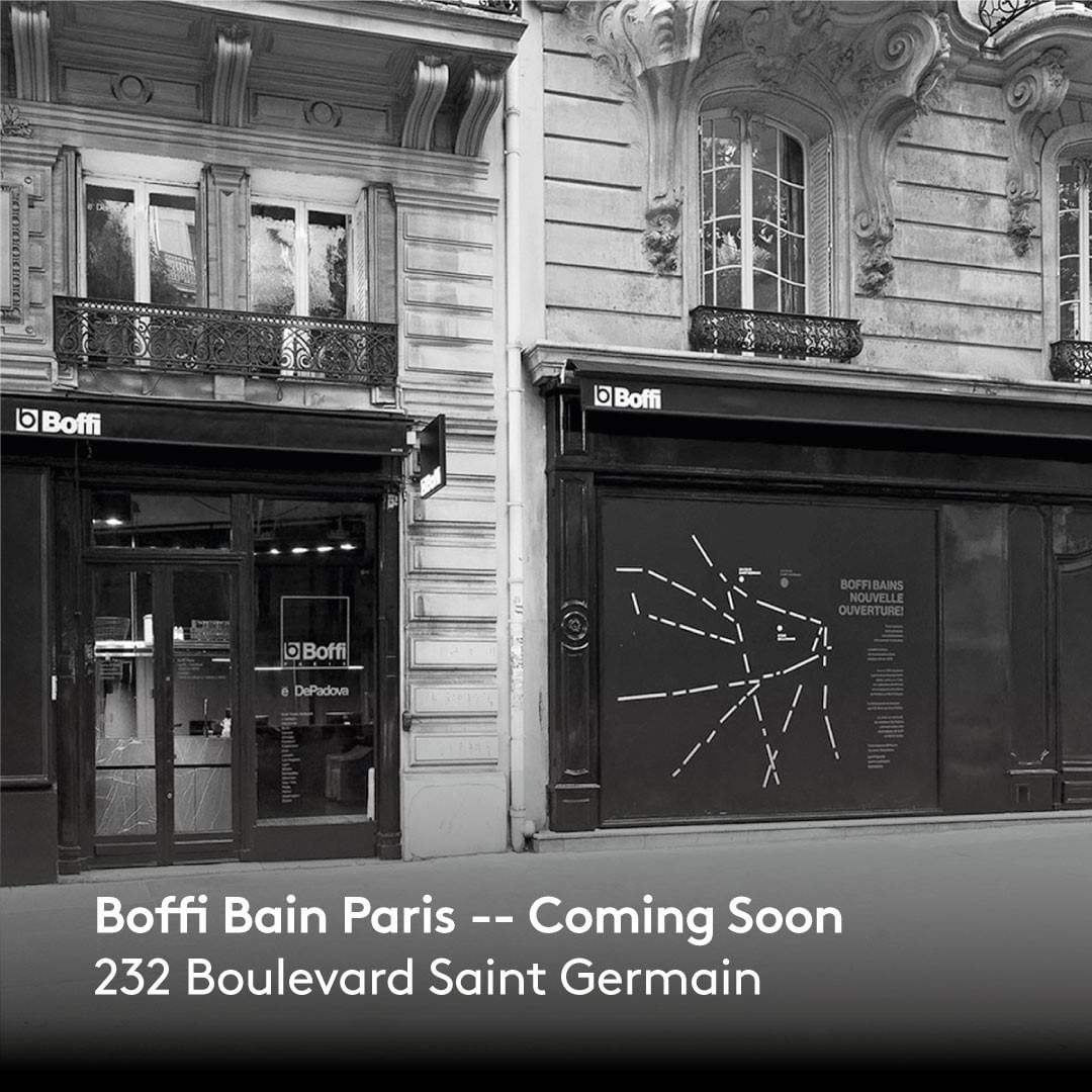 Boffi Paris continues its metamorphosis and is expanding, annexing the adjacent space of the showroom: 232 boulevard Saint-Germain. The new Boffi Bain Paris will host also @depadova_official and @mau_studio_official products, stay tuned for more info! . . . #boffi #boffidesign #depadova #depadovadesign #maustudio #maustudiodesign #boffiparis #paris #showroom #boffibain #bain #boffibainparis #contemporaryfurniture #decor #designinterior #designfurniture #designinspiration #dream_interiors #furniture #furnituredesign #homeinterior #interior  #interiorarchitecture #interiordecor #interiordesign #minimalinterior
