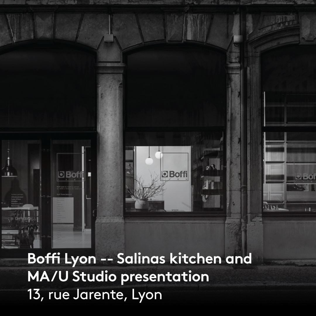 We're glad to officially present the Salinas kitchen designed by @patricia_urquiola and the @mau_studio_official collection in our @boffilyon showroom space.  The three brands of the Group, Boffi De Padova and MA/U Studio, offer unique and tailor-made solutions for home, defining a total living experience. @boffi_france @depadova_france  Come and see us! . . . . #boffigroup #boffi #boffidesign #depadova #depadovadesign #maustudio #maustudiodesign #salinas #kitchen #kitchendesign #patriciaurquiola #patriciaurquioladesign #contemporaryfurniture #designinterior #designfurniture #design #furniture #furnituredesign #homeinterior #interior #interiorarchitecture #interiordecor #interiordesign #minimalinterior